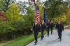 Color Guard from Rolla-Calcaterra American Legion Post #51